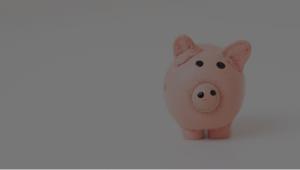Cofre de porquinho economia