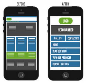 Exemplo de otimização de User Experience para mobile