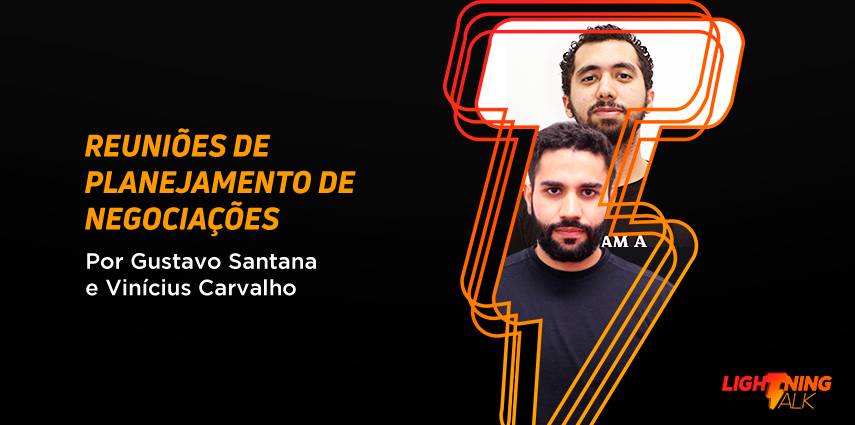 Lightning Talk sobre reuniões, por Vinícius Carvalho e Gustavo Santana, no Blog DB1 Tech Journey